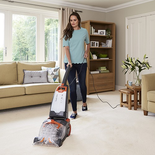 vax rapide carpet cleaner how to use
