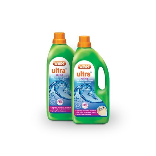 Vax Ultra+ Spring Carpet Washer Detergent