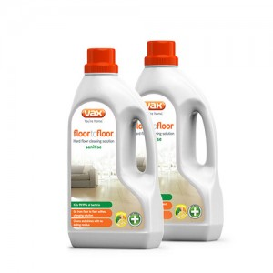 Vax Floor to Floor Sanitise Hard Floor Cleaning Solution 1.5L